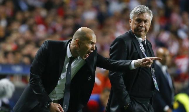 ريال مدريد يواصل مهرجاناته بقيادة زيدان واتلتيكو يقبض بقوة على الصدارة