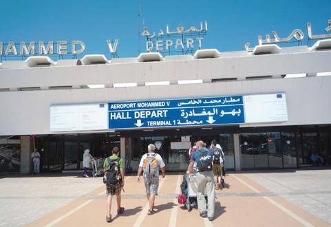 توقيف مواطنين من تركيا  بمطار محمد الخامس بسب المخدارت