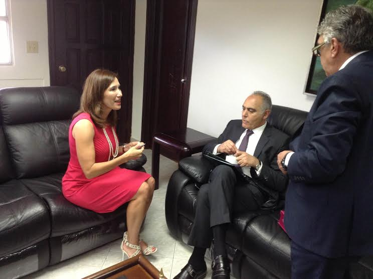 زيارة مزوارلبنما مباحثات مكثفةمع مسؤولين في الحكومة و البرلمان و رجال الأعمال