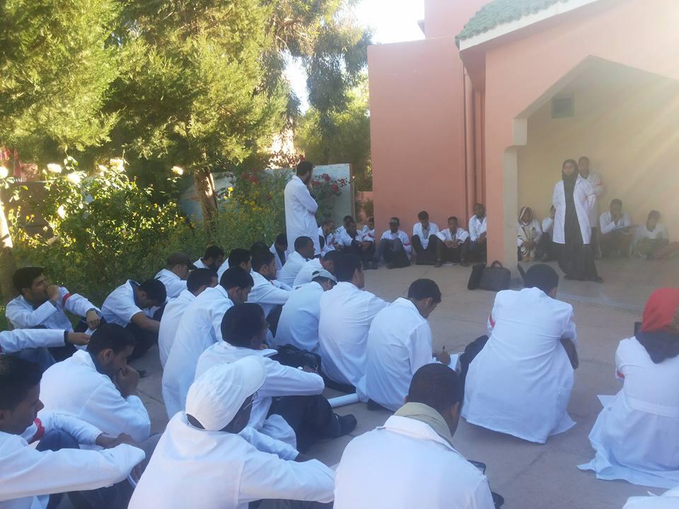 هيئات المجتمع المدني بطاطا تتضامن مع الأساتذة المتدربين.
