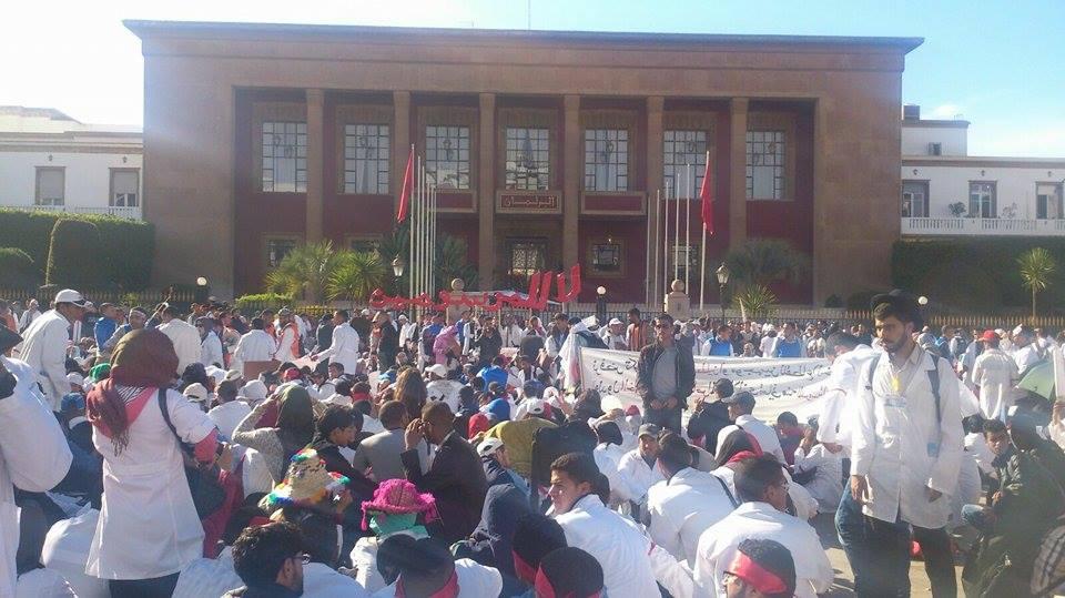 التنسيقية الوطنية للأساتذة المتدربين تدعو إلى مسيرة وطنية يوم الأحد