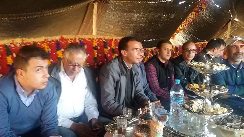 تاج يترأس الجمع العام لحزبه بجماعة حودران