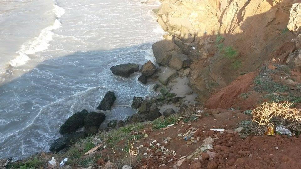 سلا….البحر يقذف بجثة