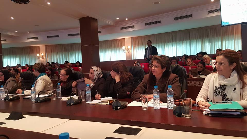 بالصور: المشاركة في ندوة نظمتها منظمة المرأة الاستقلالية حول هياة المناصفة ومحاربة كل أشكال التمييز ضد المرأة