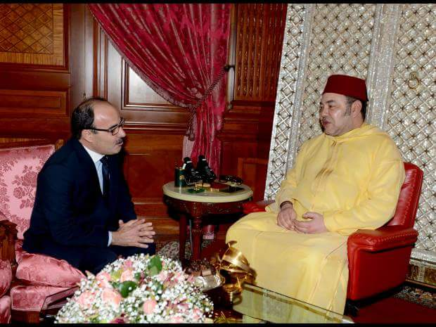الملك محمد السادس يستقبل إلياس العماري