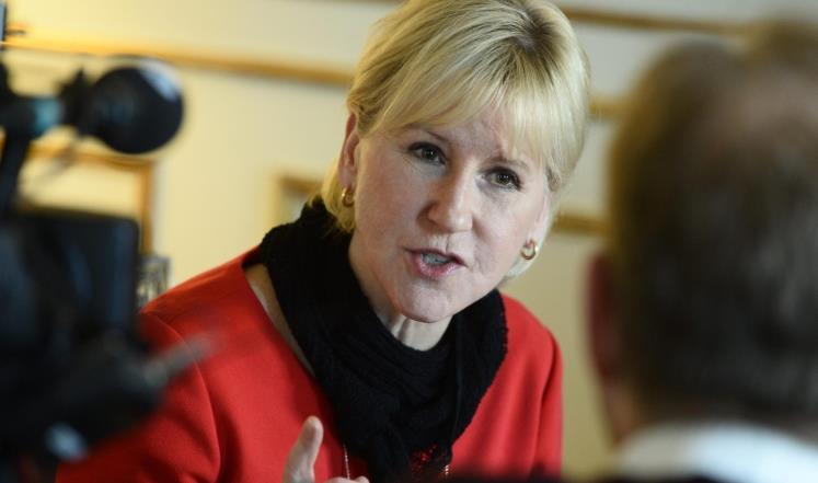 منع وزيرة خارجية السويد من زيارة إسرائيل