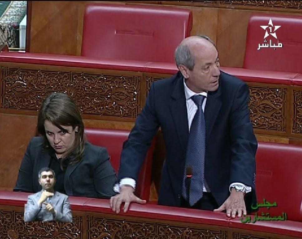 قربلة بمجلس المستشارين بسبب سؤال بالأمازيغية !