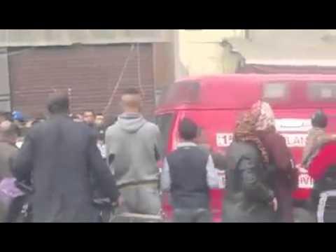 سقوط سقف مقهى على رؤوس الزبناء ببني ملال !!!