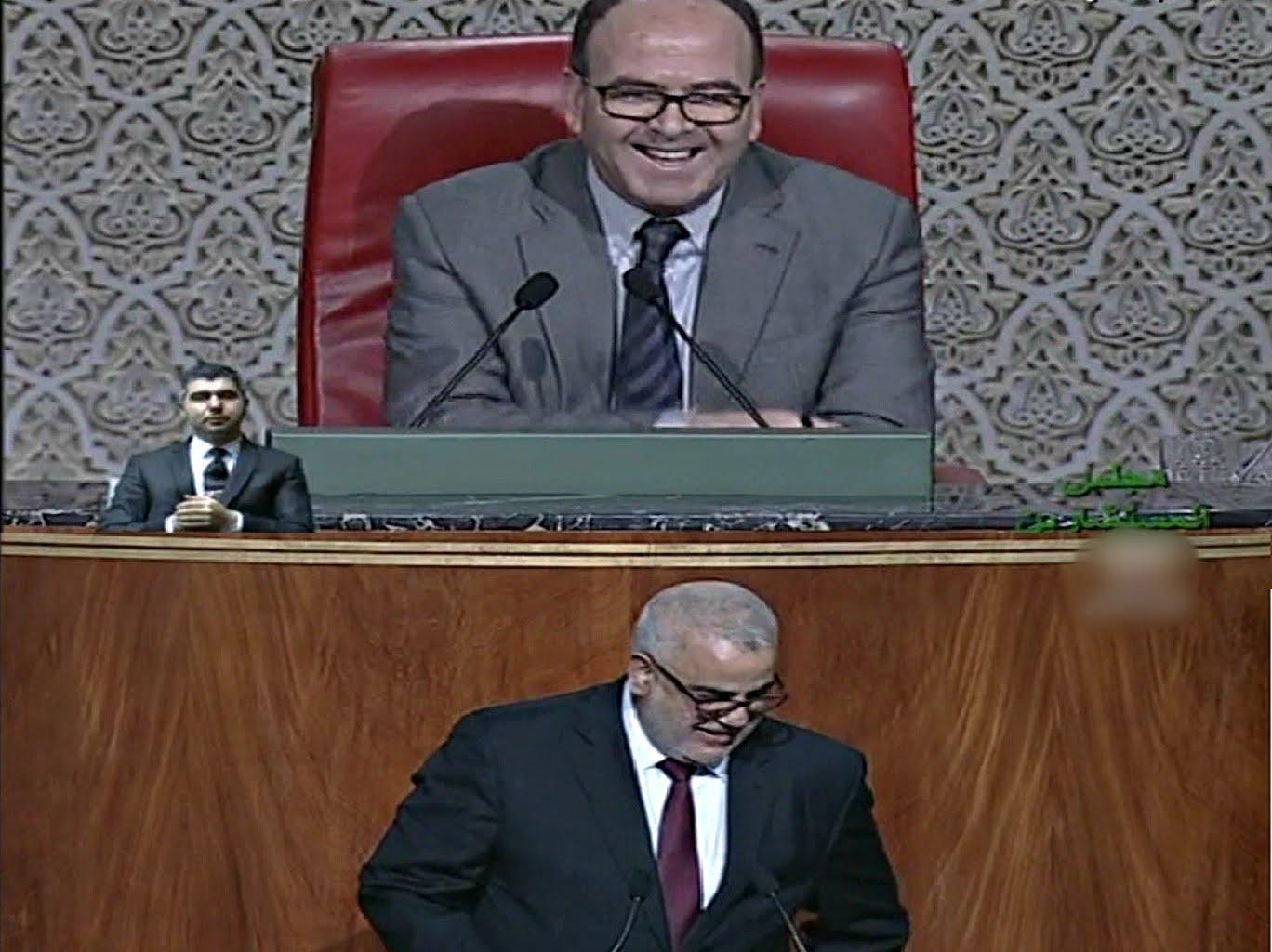بنكيران لـ بنشماس والله يلا دارو مزيان منين طلعوك تما