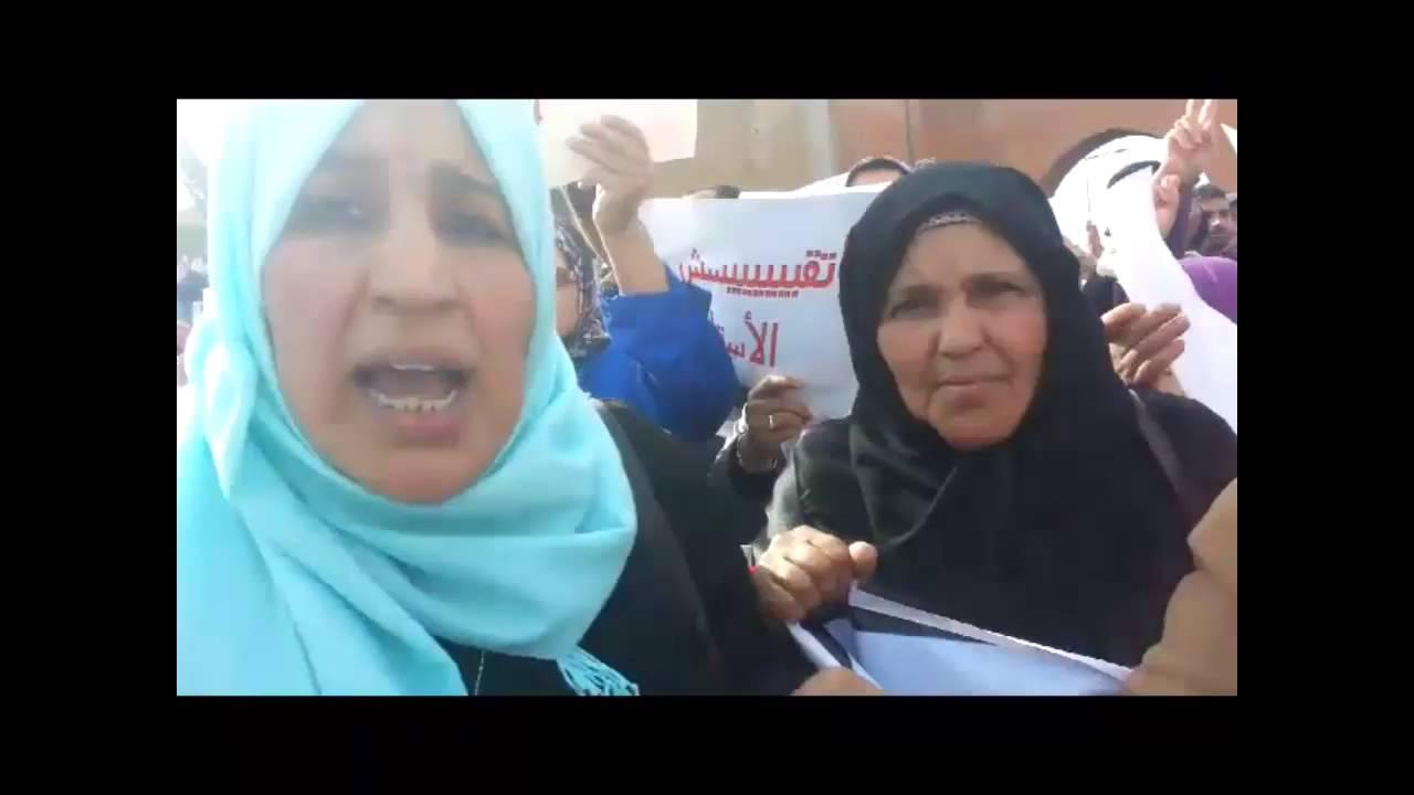 أمهات الأساتذة المتدربين يخاطبن بن كيران