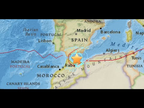 خسائر الزلزال بمليلية