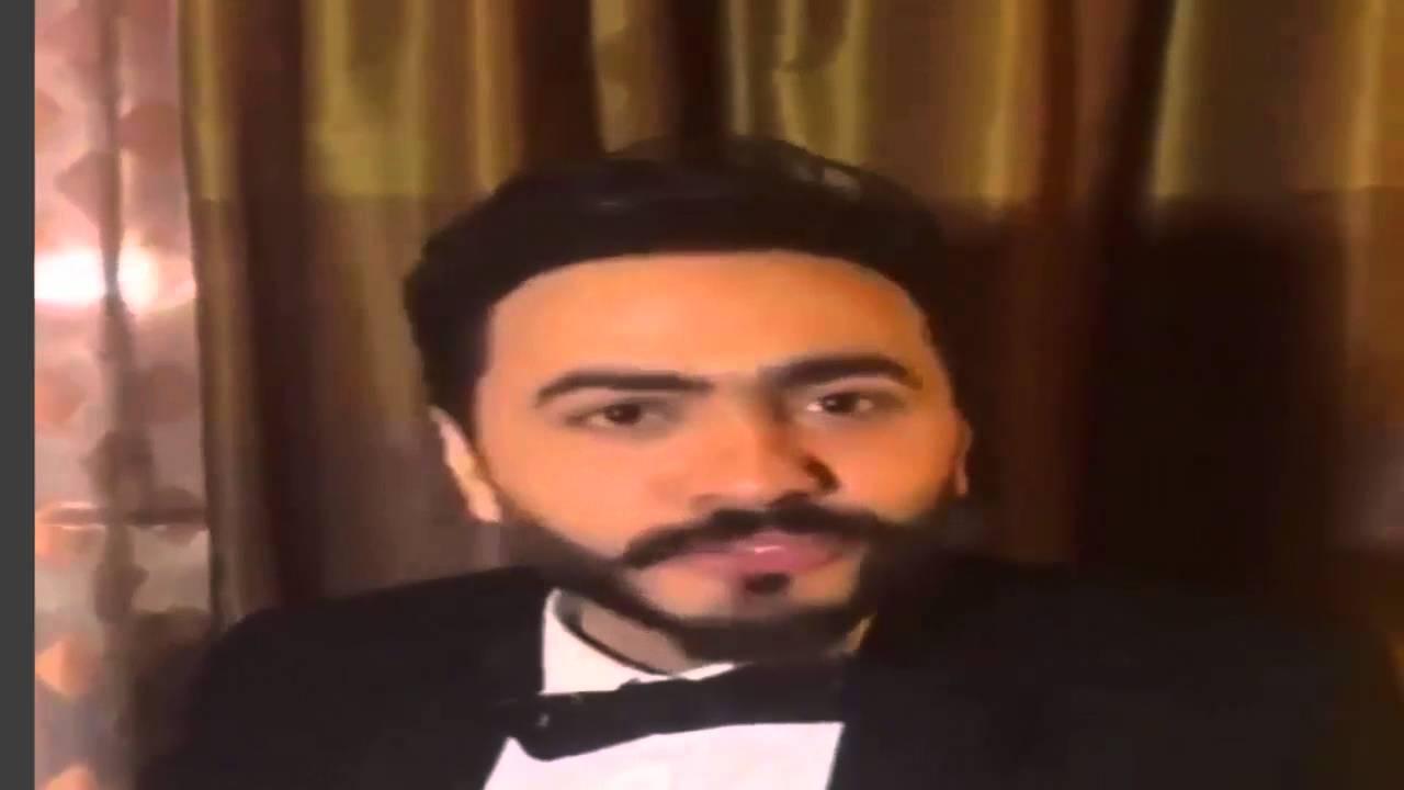 فضيحة هجوم معجبه على تامرحسني بمهرجان هلا