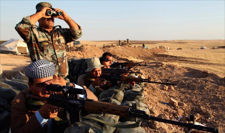 رئيس البرلمان العراقي: الغارات على الدولة الاسلامية تفتح الطريق لاستعادة الموصل