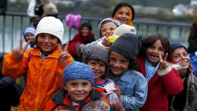 نصف مليون طفل لاجئ يعيشون في ألمانيا