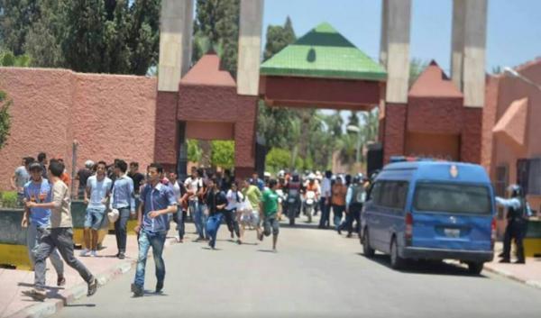 التوصل الى هوية قاتل شخص في احداث الحي الجامعي لاكادير
