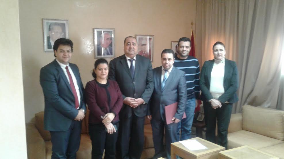 اتحاديون ينشطون في قطاع الجالية المغربية والهجرة يلتقون لشكر