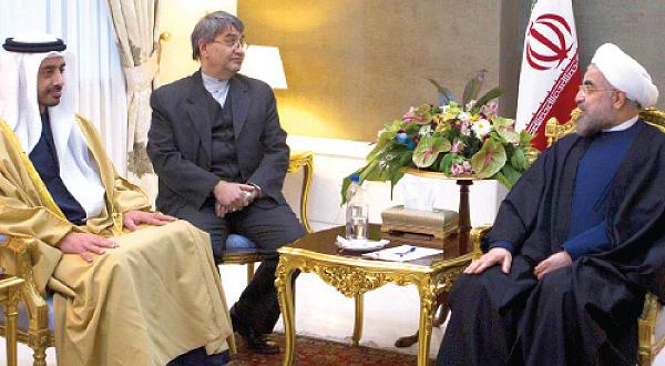الامارات تدخل على الخط في صراع ايران والسعودية