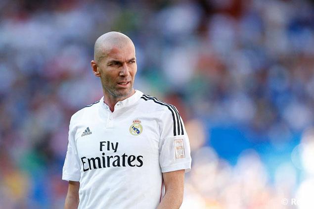 زيدان يتولى المسوولية الصعبة فى ريال مدريد
