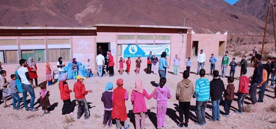 جمعية يد العون بورزازات تنظم حملة سرور في نسختها الثانية