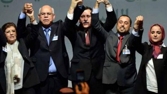 الاعلان عن تشكيلة الحكومة الليبية