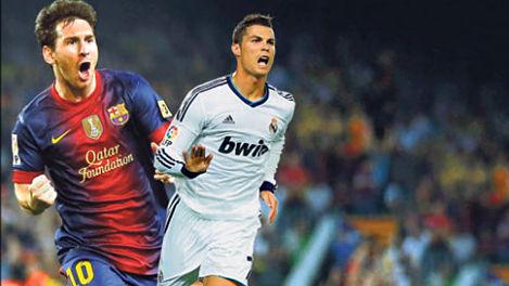 رونالدو وميسي سجلا الف هدف!