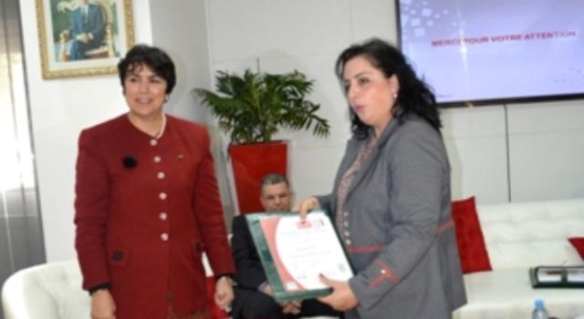 تعيين ليلي الحموشي في منصب عامل بوزارة الداخلية