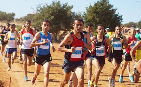 العربي وحسناوي يفوزان بلقب البطولة الوطنية للعدو الريفي بخريبكة