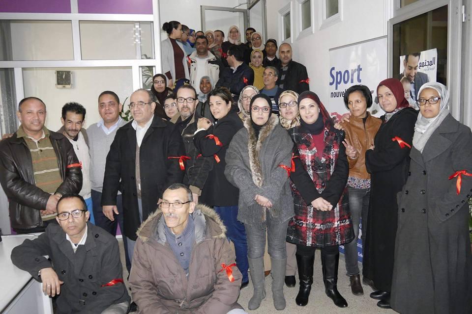 بالصور: صحافيو الاتحاد الاشتراكي يشاركون في الاضراب العام