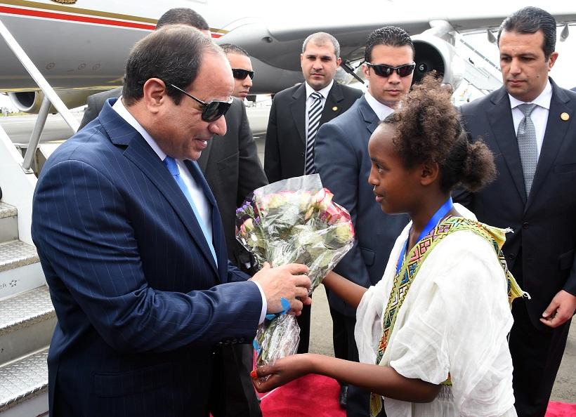القمة الافريقية: مصر تعرض تقرير لجنة تغير المناخ  وتفوز بعضوية مجلس السلم والأمن الأفريقي