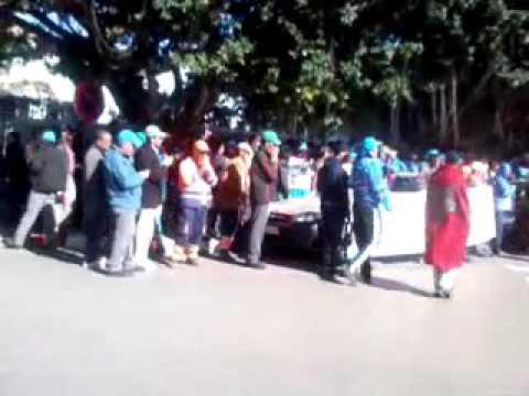 احتجاج عمال النظافة بالرباط ام وزارة الداخلية