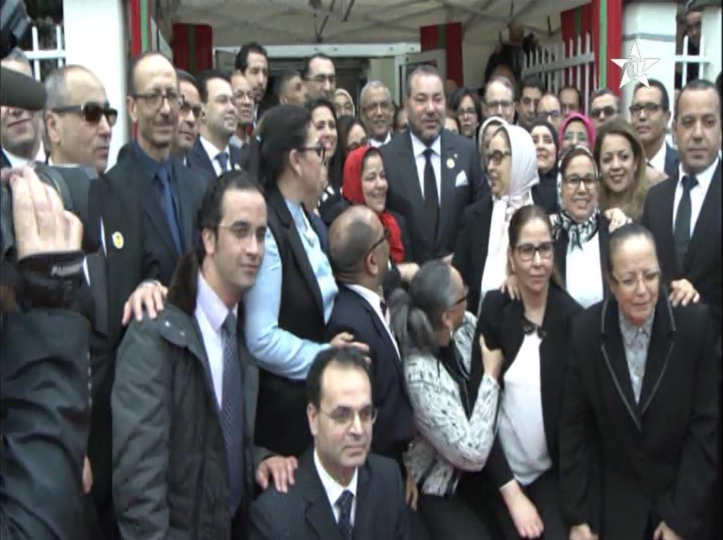 الملك محمد السادس يُراقب الخدمات القنصلية للمغرب بفرنسا
