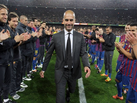 برشلونة يعادل رقما قياسيا حققه تحت اشراف غوارديولا