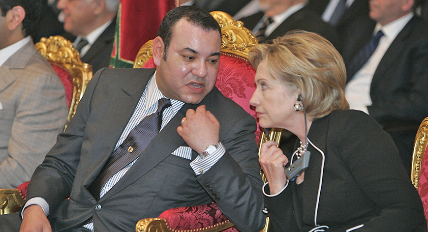 واش امريكا تتدخل في المغرب..كلينتون ترشح بنكيران للفوز في الإنتخابات المقبلة