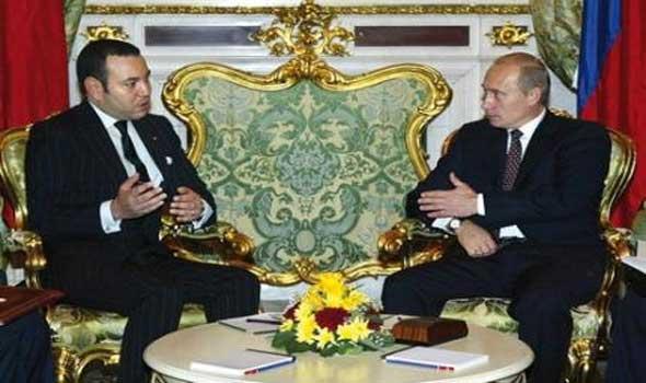 الملك محمد السادس يزور روسيا