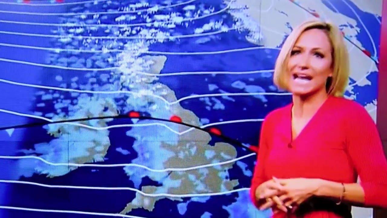 لحظة إغماء مذيعة «BBC» على الهواء