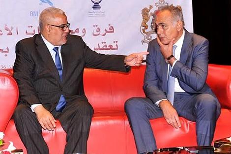 بن كيران يلتقي مزوار  والياس العماري لاستفسارهم عن سبب الهجوم على حزبه