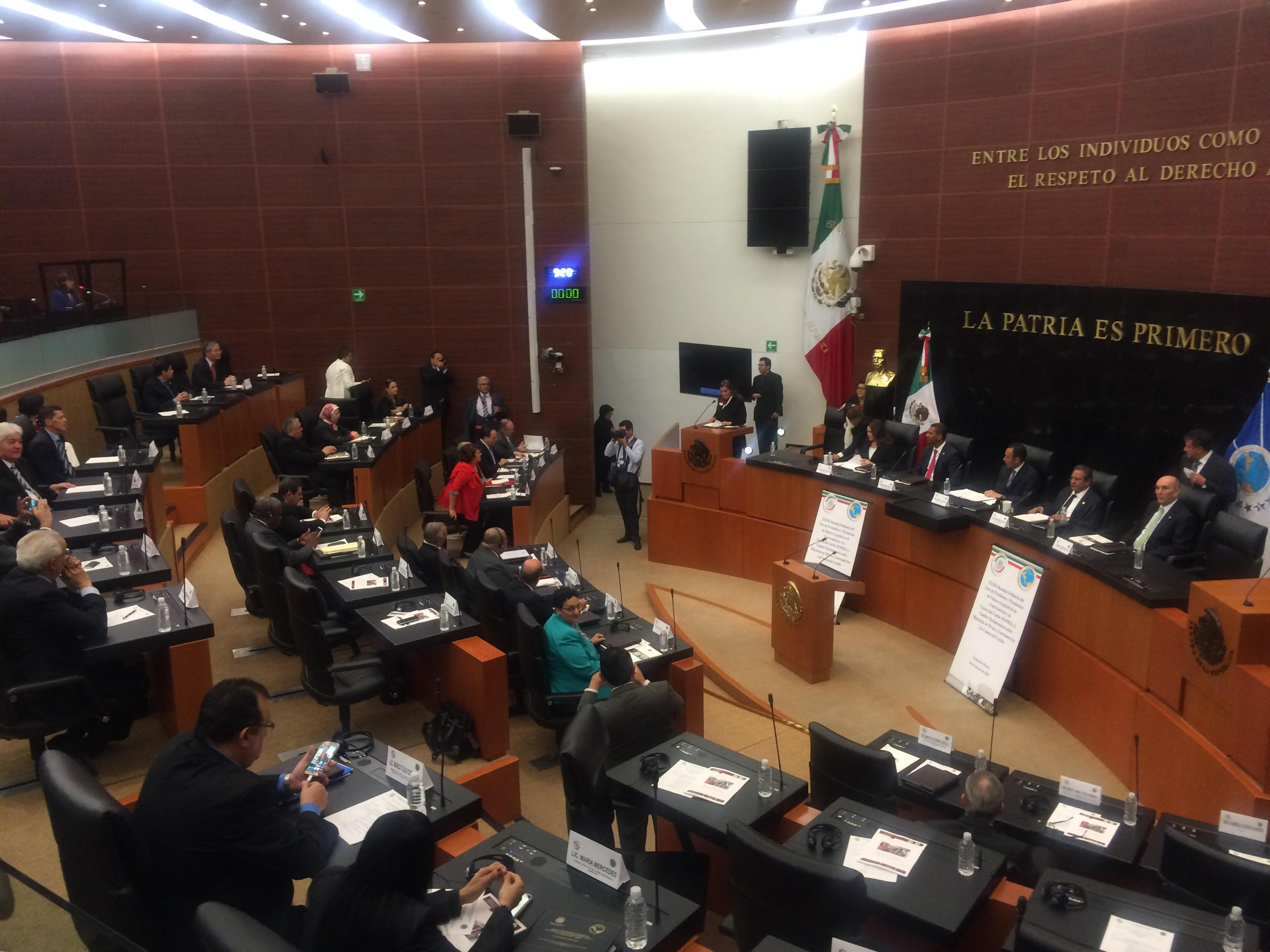 الطالبي العلمي يشارك بمكسيكو سيتي في منتدى رؤساء المؤسسات التشريعية بأمريكا الوسطى ودول الكاريبي
