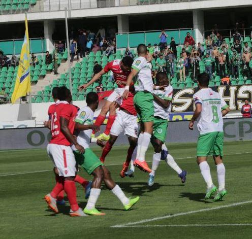 الفريق التونسي ظهر بصورة باهتة وإصابة البدوي أثرت سلبا خلال الجولة الثانية وإهدار الفرص يلازم أولمبيك خريبكة