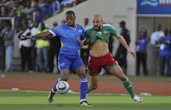 المغرب اول المتأهلين الى النهائيات  2017