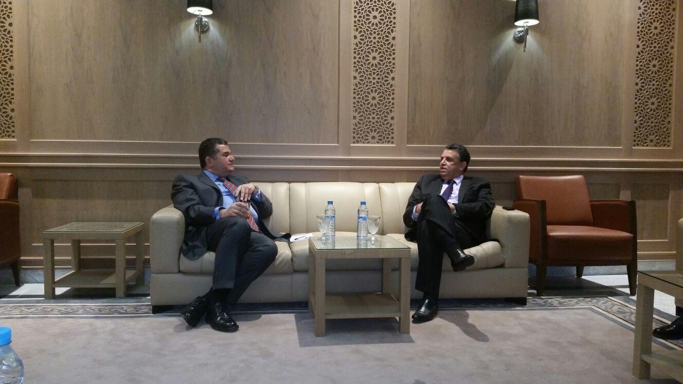 عبداللطيف وهبي يلتقي السفير التركي بالرباط  وهذا ما قاله له عن الارهاب