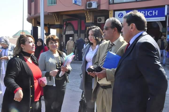 الحيطي تبدأ حملتها الانتخابية بمراكش مستغلة منصبها الوزاري