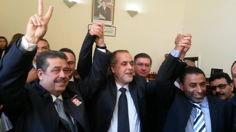 بالصور: محاكمة نقيب الصحافيين المغاربة عبد الله البقالي