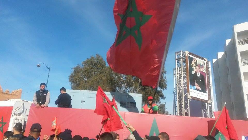 """المغاربة في طاليان..يعتبرون تصريحات بان كي مون حول الصحراء المغربية """"غير مقبولة """""""