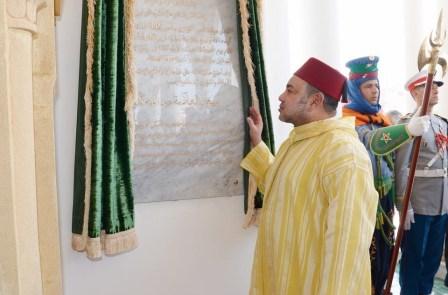 الملك يدشن مركز علم الفيروسات والأمراض التعفنية والاستوائية بالمستشفى العسكري محمد الخامس بالرباط