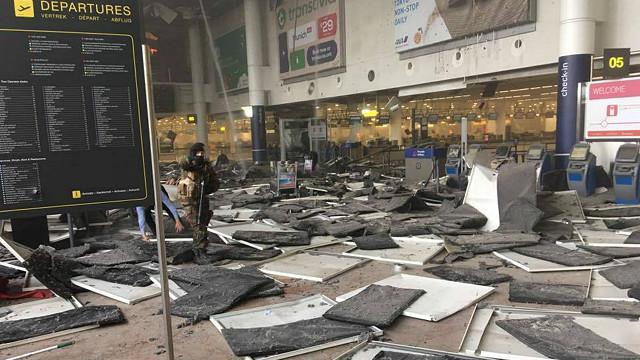 المدعي العام البلجيكي يؤكد أن تفجير بروكسل كان هجوما انتحاريا