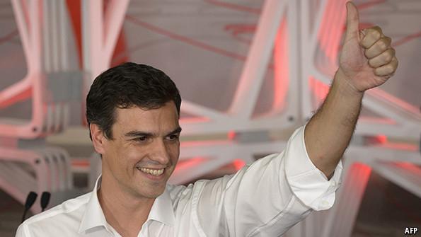 زعيم الحزب الاشتراكي الاسباني يجدد رفضه لتنظيم استفتاء في إقليم كاطالونيا