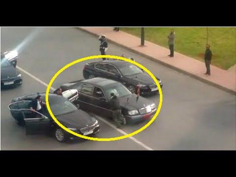 مواطن يخترق الموكب الملكي للملك محمد السادس بالرباط