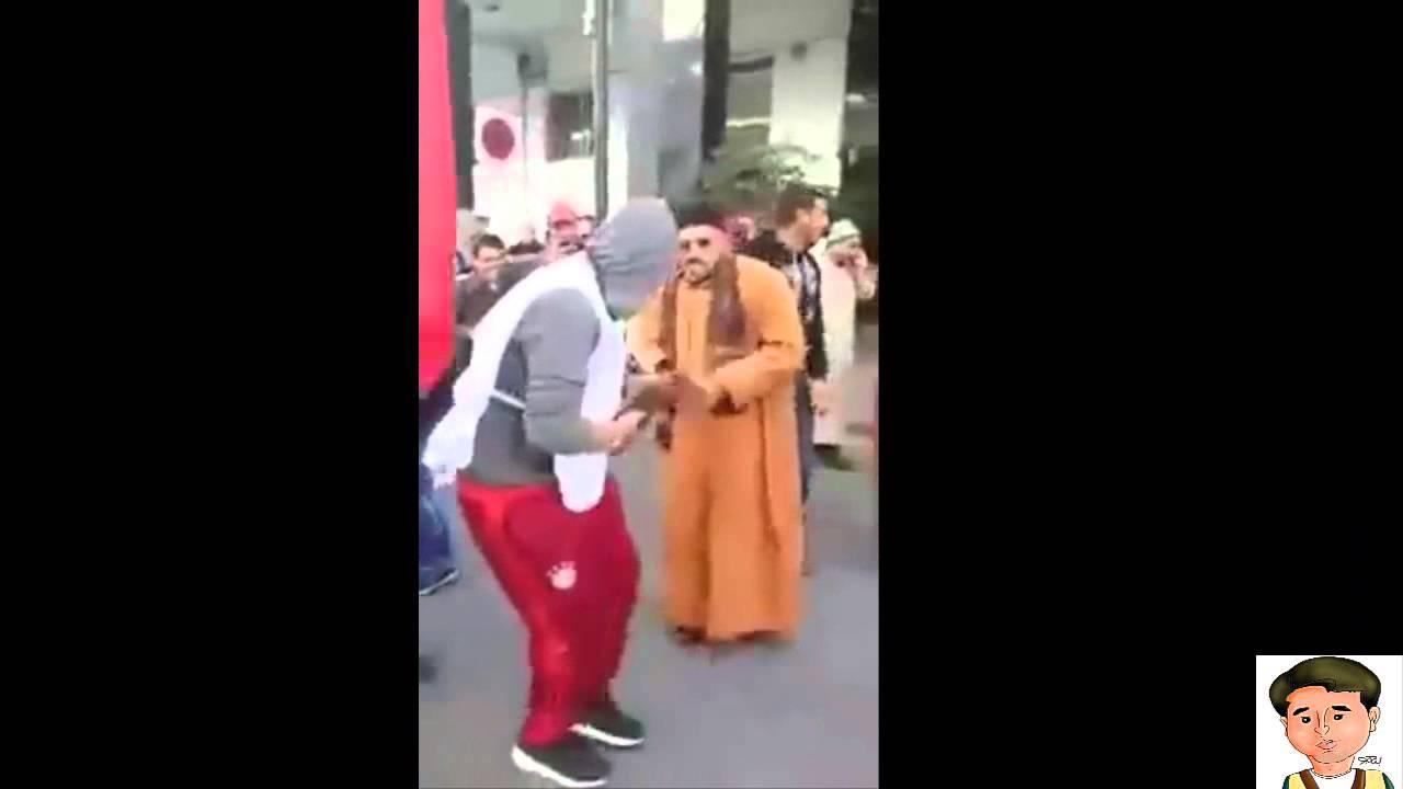 مسيرة الرباط:  شوفوا شخص يرقص