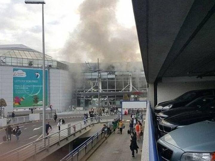 اغلاق مطار بروكسل حتى اشعار اخر بعد الانفجارين