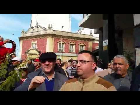 """احتجاجات على كنوبس بطنجة ورفع شعار""""ارحل"""" في وجه عدنان"""